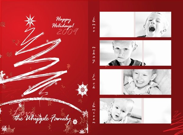 Free Christmas Card Templates for Shop Invitation