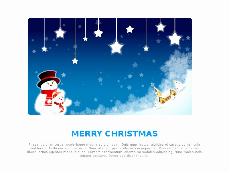 Free Christmas Email Template Templates Data