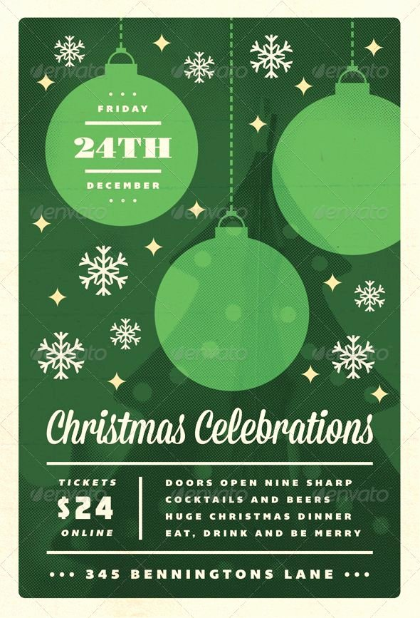 Free Christmas Flyer Templates Microsoft Word – Fun for