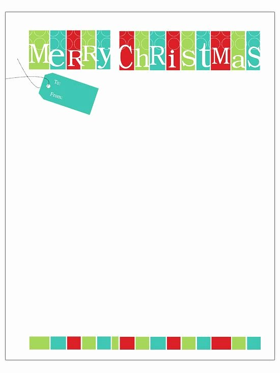 Free Christmas Letter Templates Download – Fun for