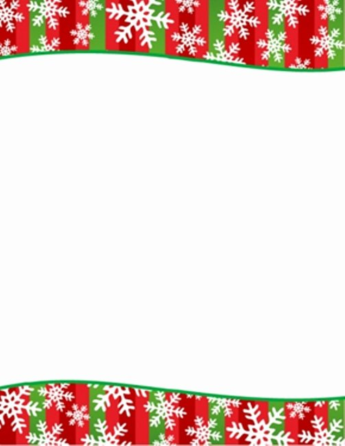 Free Christmas Stationery Templates Invitation Template