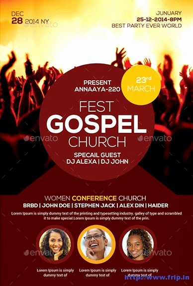 Free Church Flyer Templates Download Yourweek F9344eeca25e