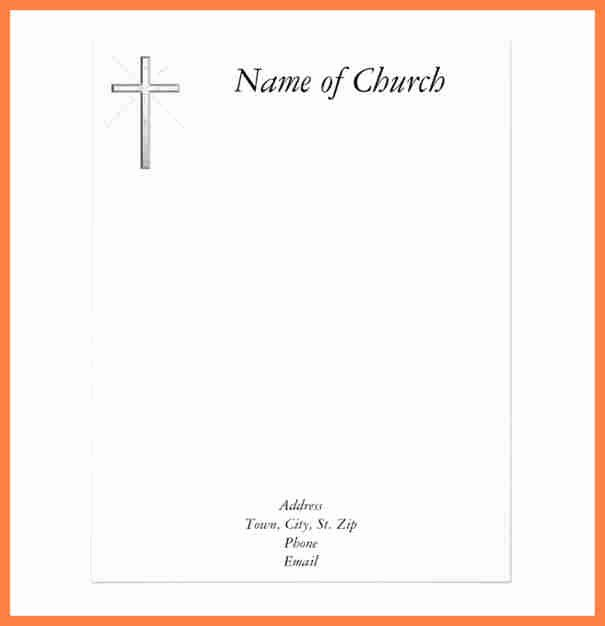 Free Church Letterhead