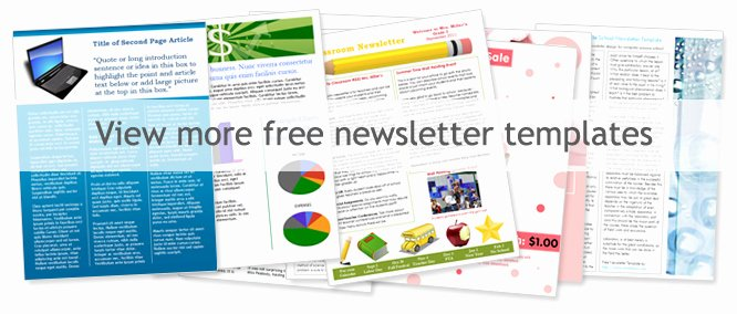 Free Church Newsletter Templates Worddraw