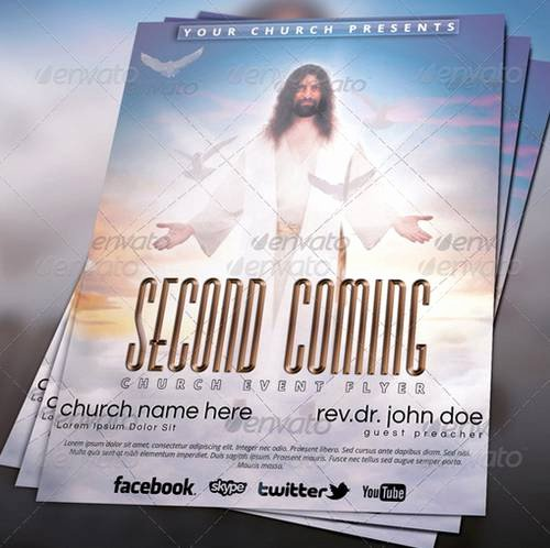Free Church Templates for Flyers Yourweek 648bdaeca25e