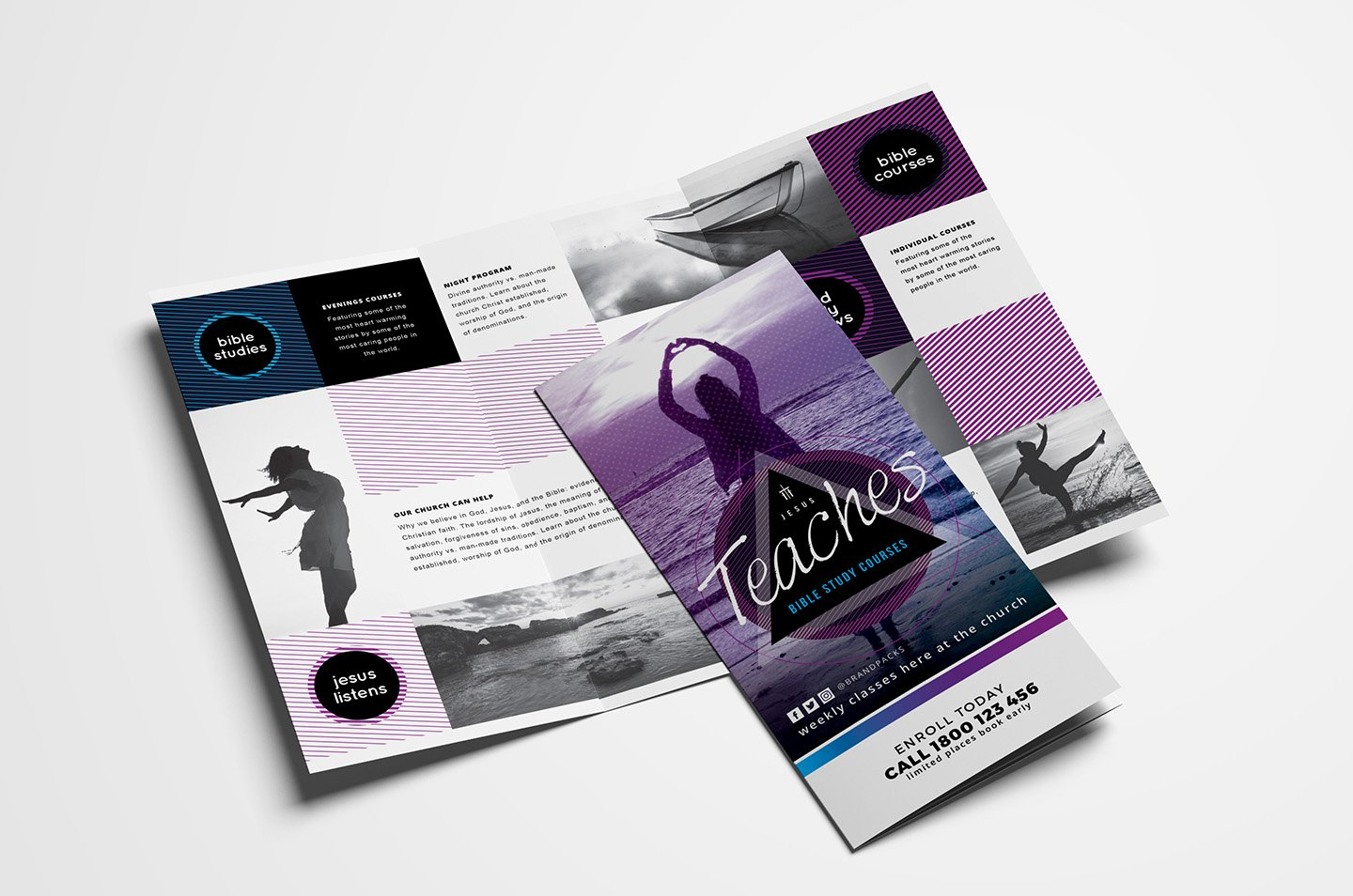 Free Church Templates Shop Psd & Illustrator Ai