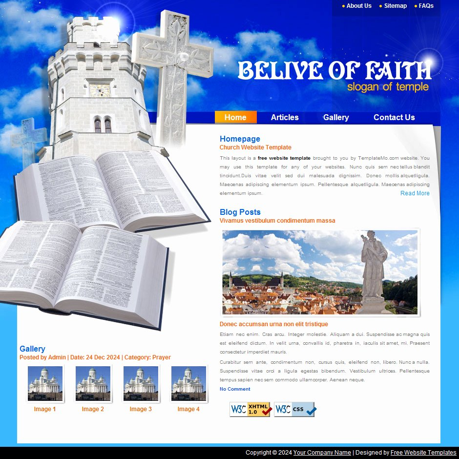 Free Church Website Templates Video Search Engine at
