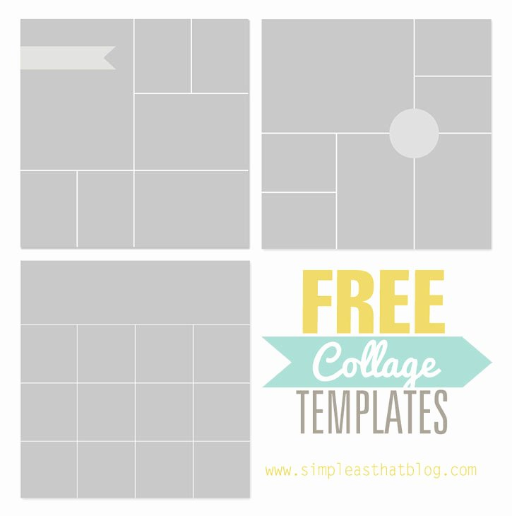 Free Collage Templates From Simple as that