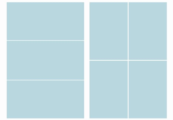 Free Collage Templates – Set Of 8