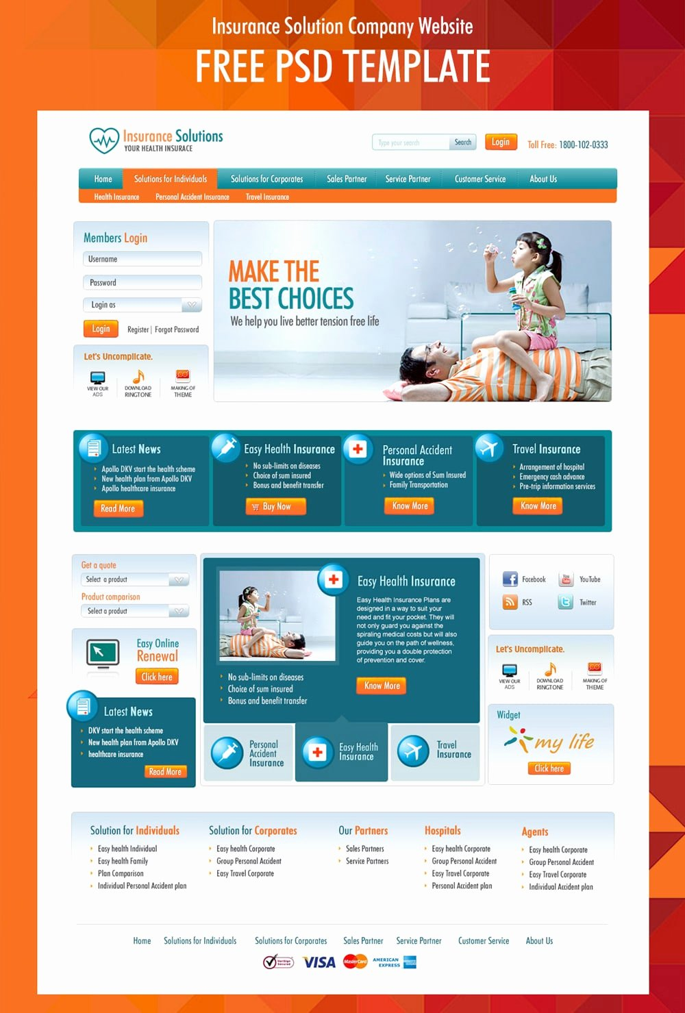 corporate business web templates