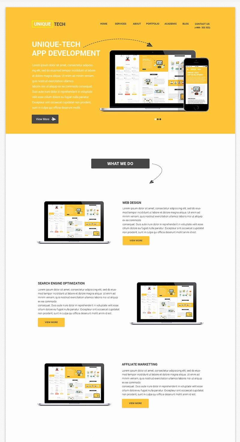 Free Corporate Psd Website Template