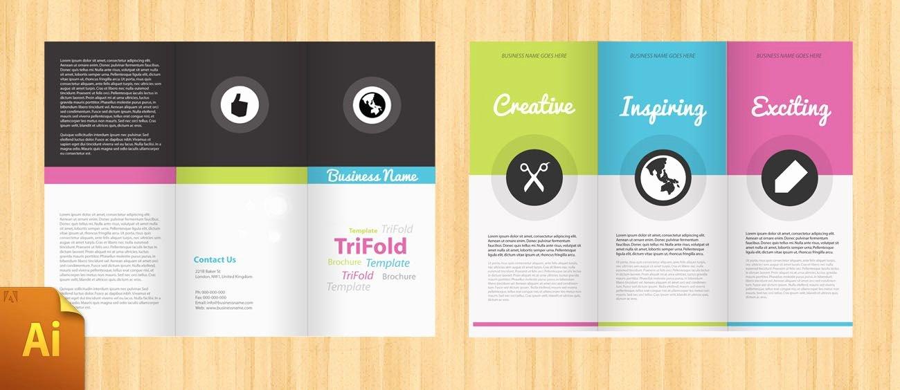 Free Corporate Tri Fold Brochure Template