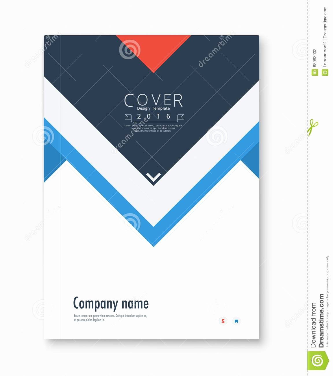 Free Cover Page Design Templates In Ms Word