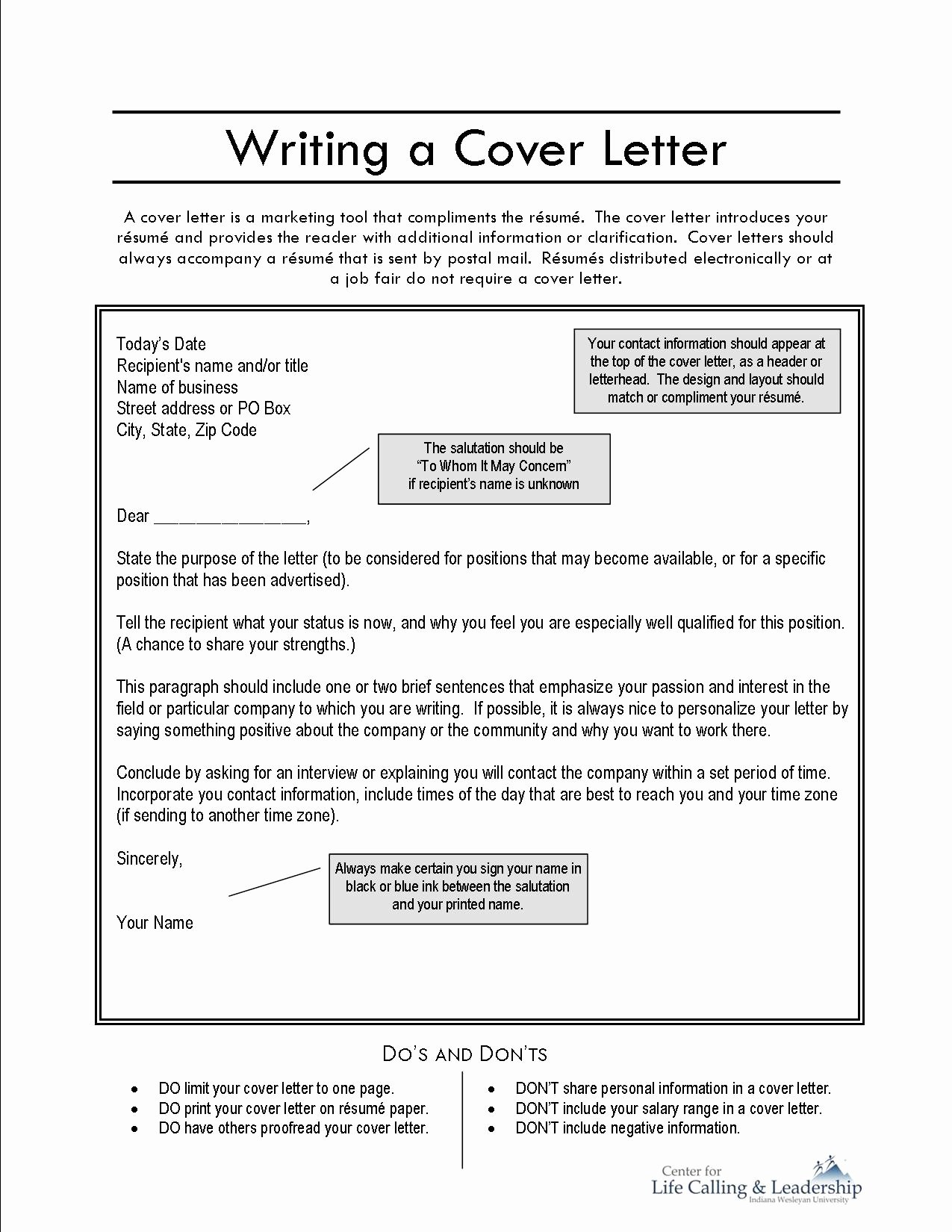 Free Cover Page for Resume 2016 Samplebusinessresume