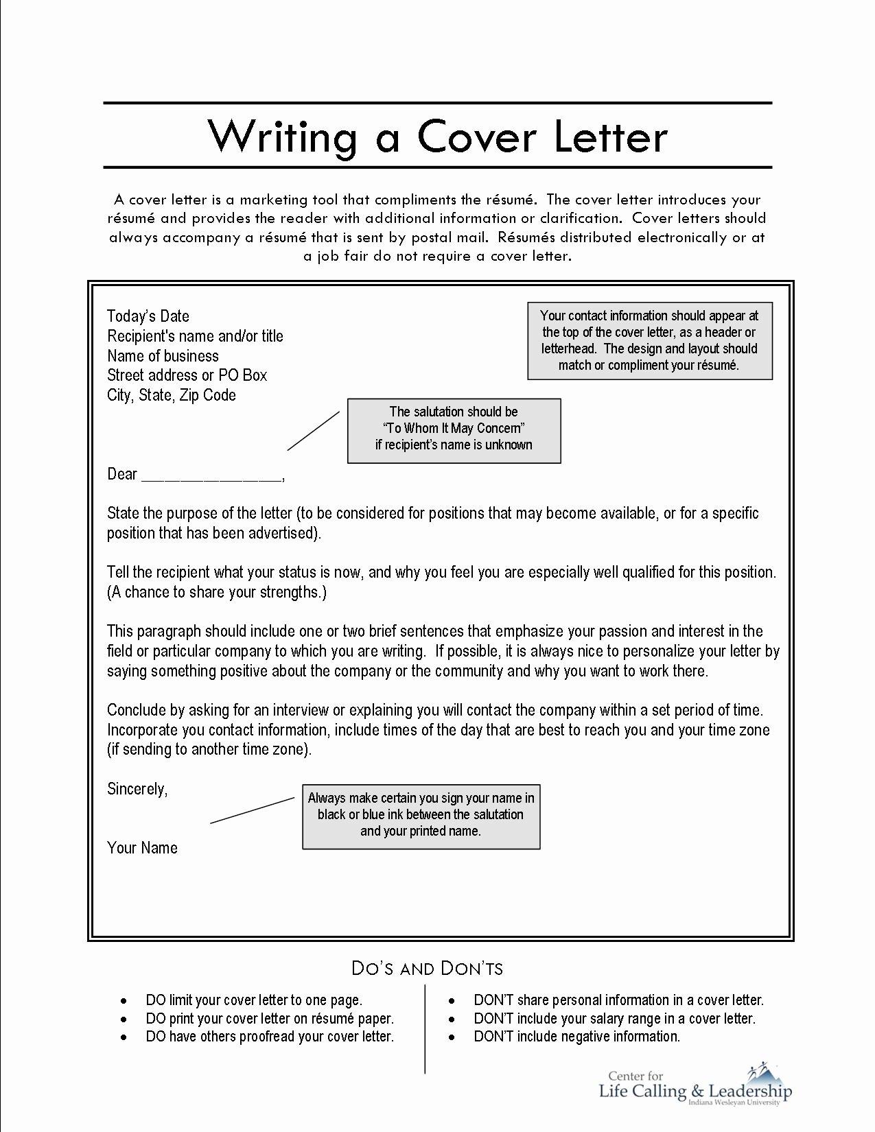 Free Cover Page for Resume 2016 Samplebusinessresume