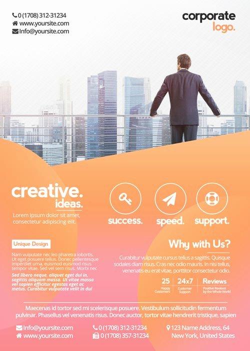 Free Creative Flyer Templates Yourweek F57bdaeca25e