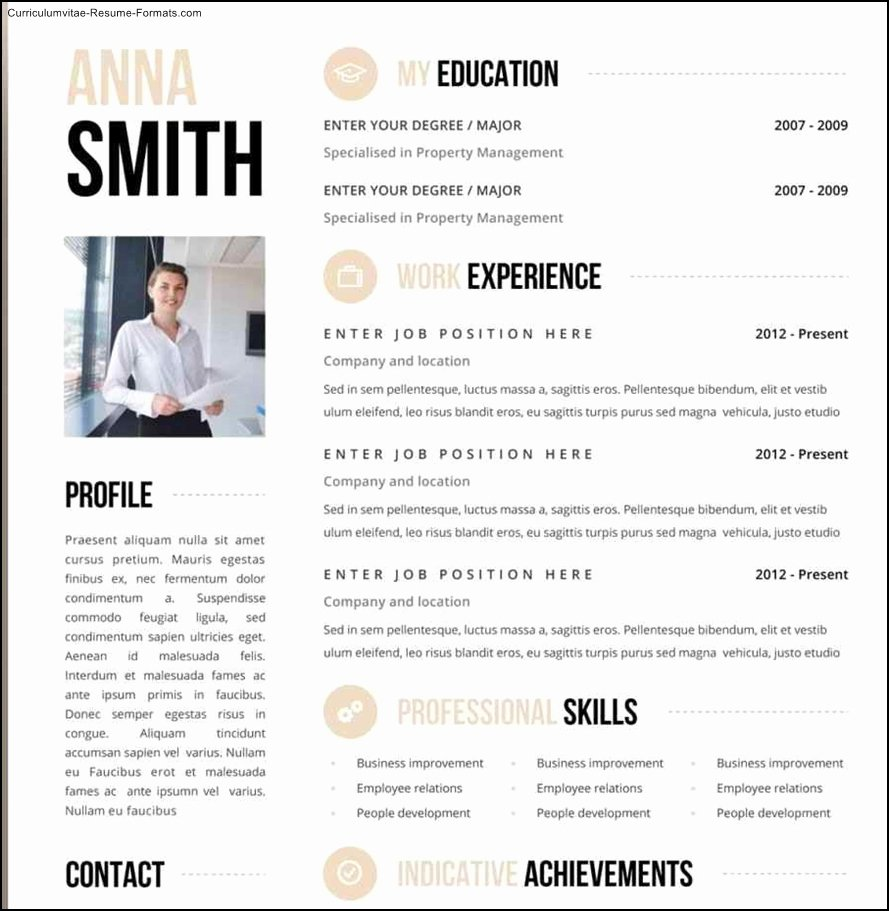 Free Creative Resume Templates Word Free Samples