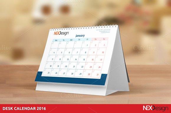 Free Desk Calendar Indesign Template Designtube Creative Design Content