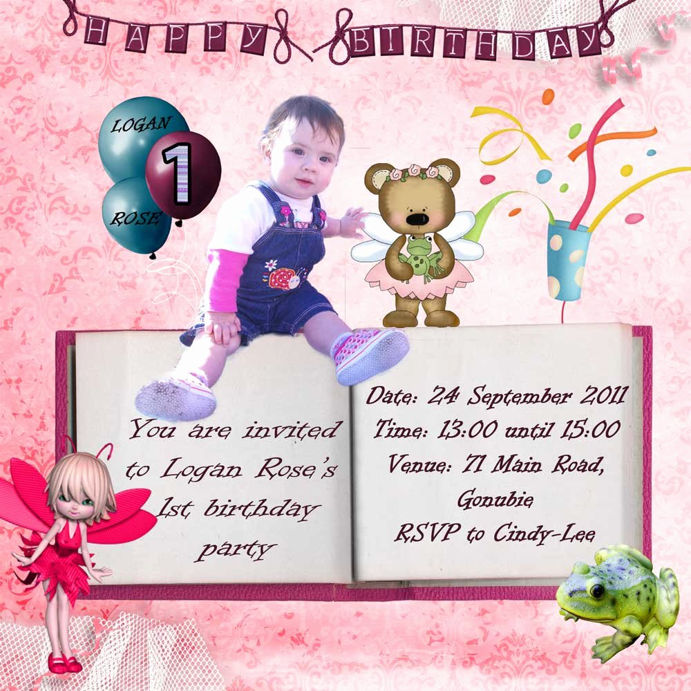 Free Digital Birthday Invitations