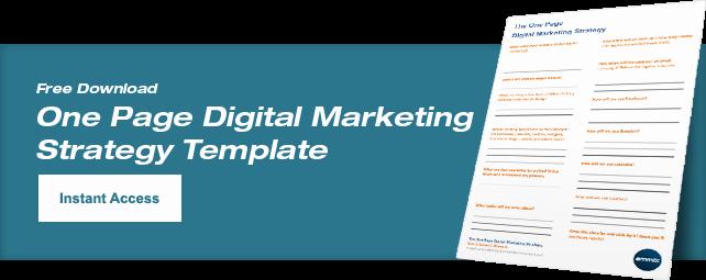 Free Digital Marketing Plan Template ⋆ Emmix