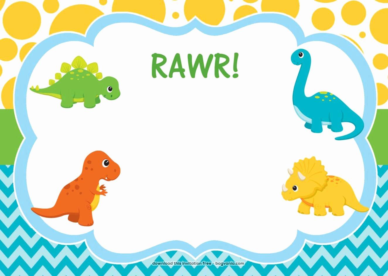 Free Dinosaur Birthday Invitations – Free Printable