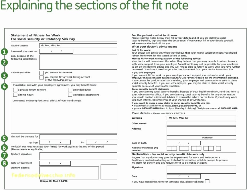 Free Doctors Note Templates Doctor Excuse Letter for