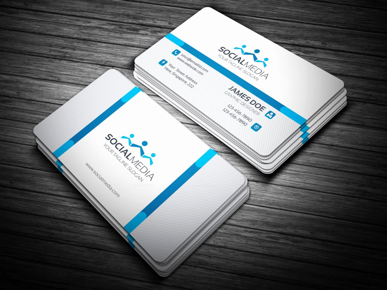 Free Download Blank Business Card Template Staples Image
