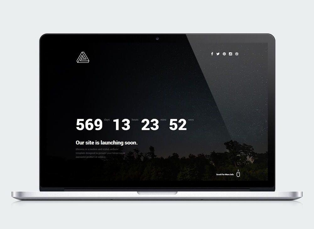 Free Download Khronos Ing soon Landing Page