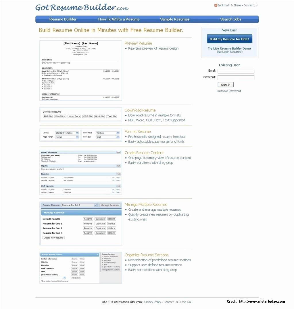 Free Download Resume Maker software Resume Resume