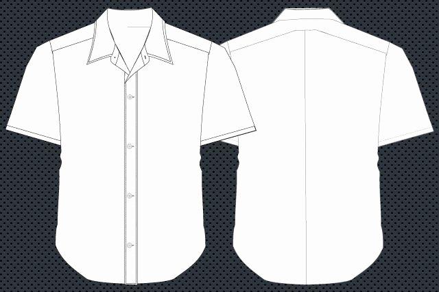 Free Download Shirt Template Shirt