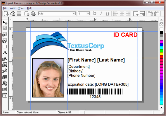 Free Download Student Id Card Template Psd