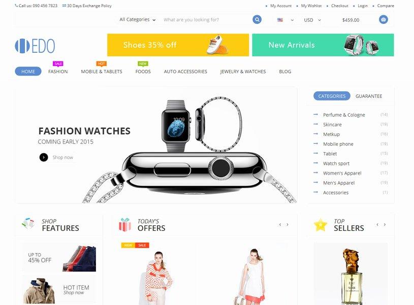 Free E Merce Website Templates