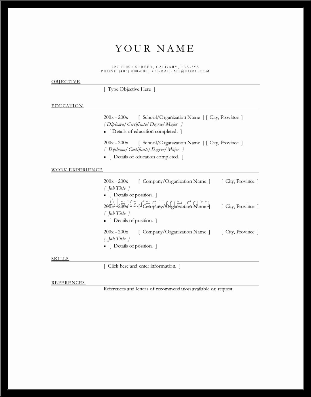 Resume Maker Free Online Latter Example Template
