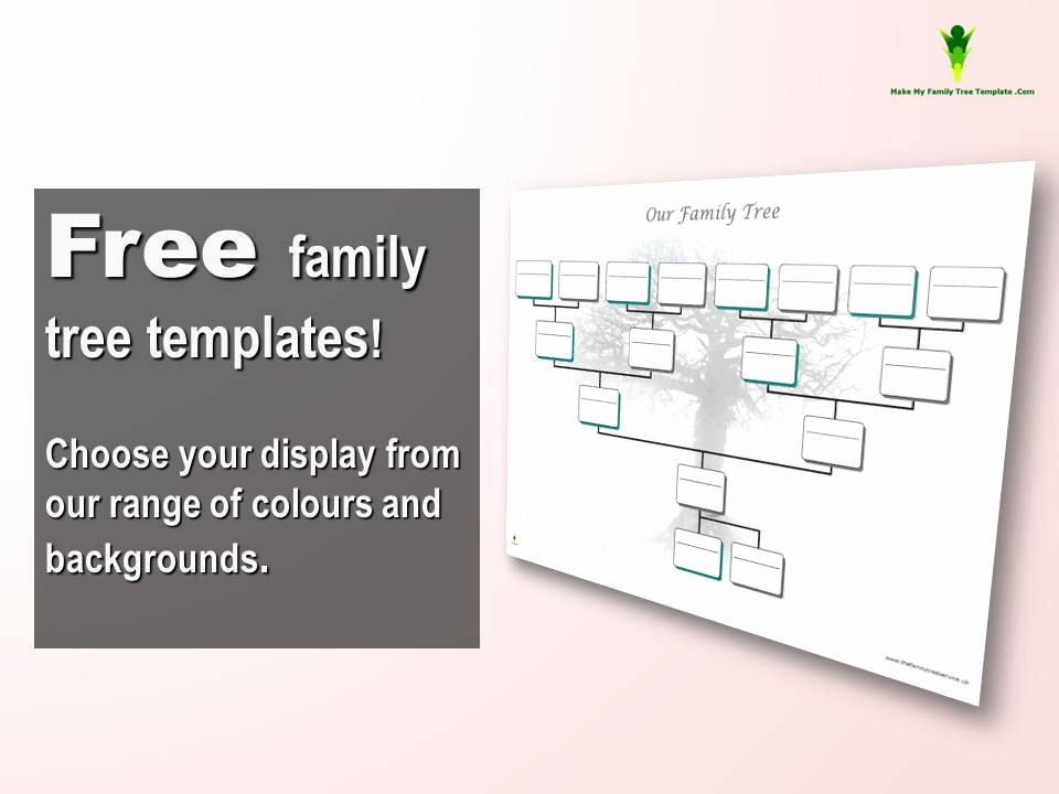 Free Editable Family Tree Template Word