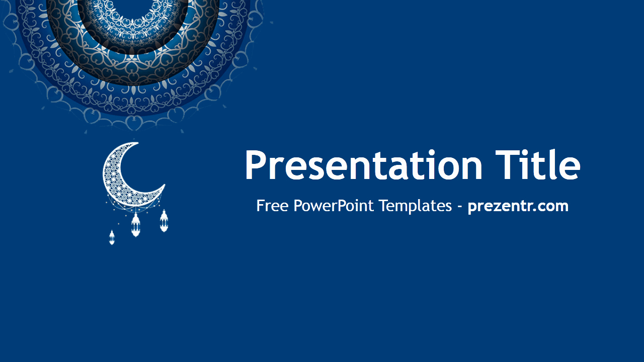 Free Eid Mubarak Powerpoint Template Prezentr Powerpoint