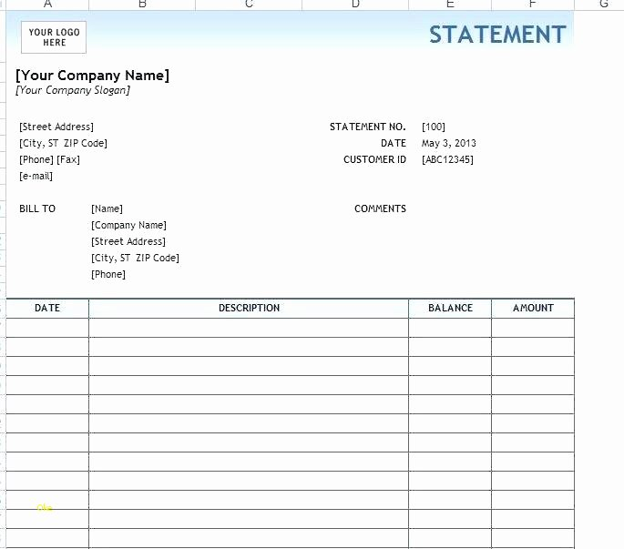 Free Employee Earnings Statement Template Image with