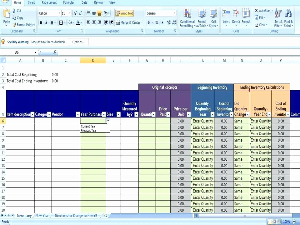Free Excel Templates for Inventory Management – Teletienda
