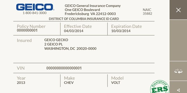 Free Fake Auto Insurance Card Template Fake Insurance Card