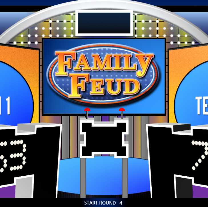 Free Family Feud Powerpoint Game Template Rebocfo