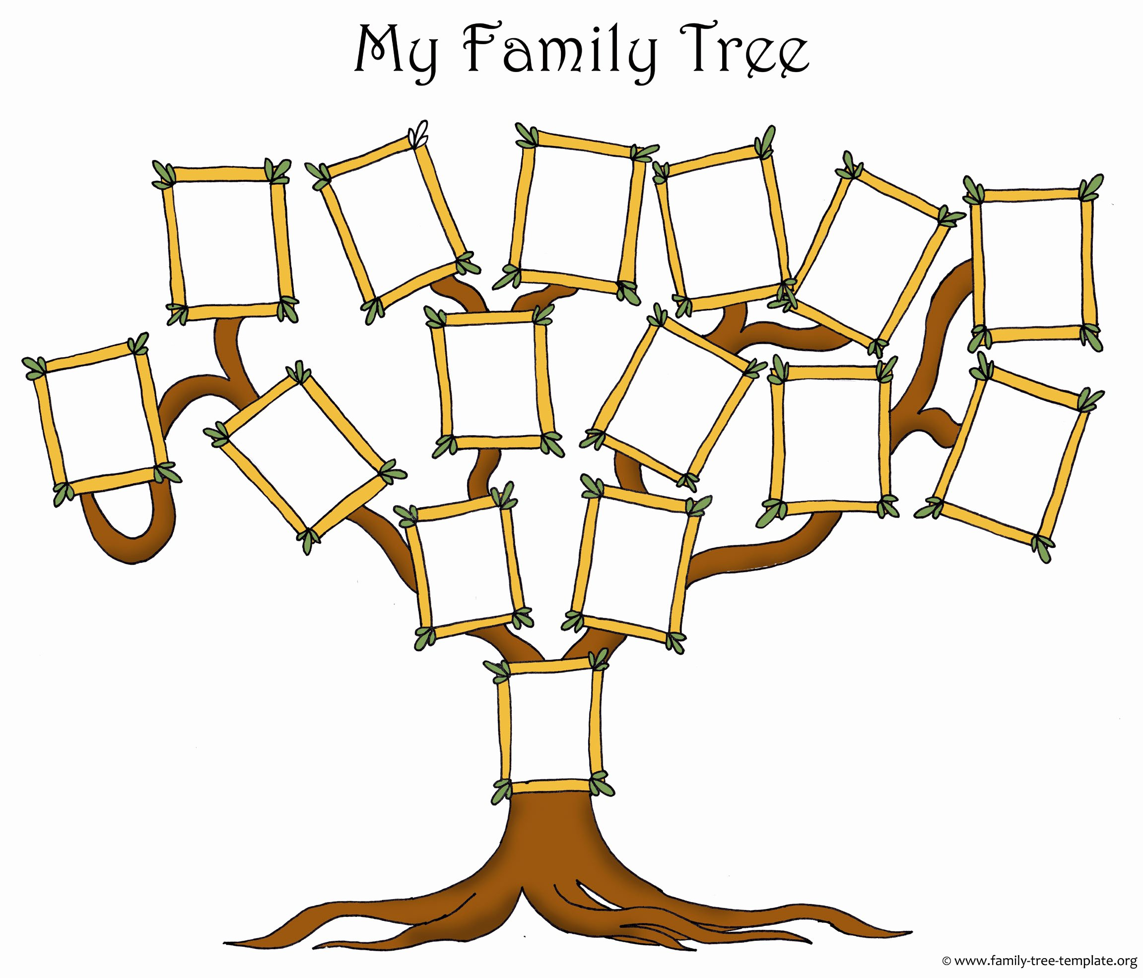 Free Family Tree Template Designs for Making Ancestry