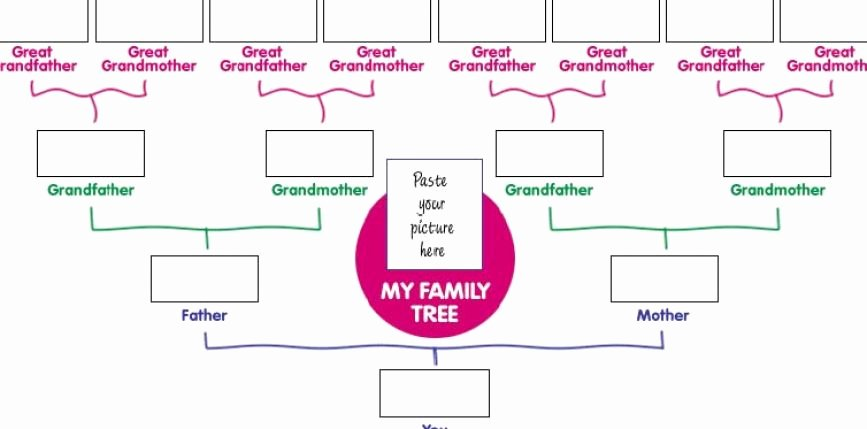 Free Family Tree Template Printable Blank Family Tree