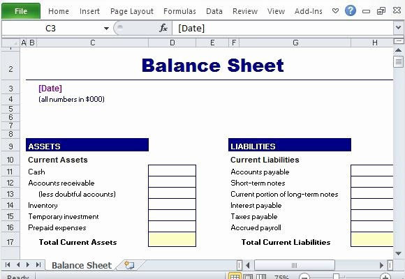 Free Financial Report Templates for Excel