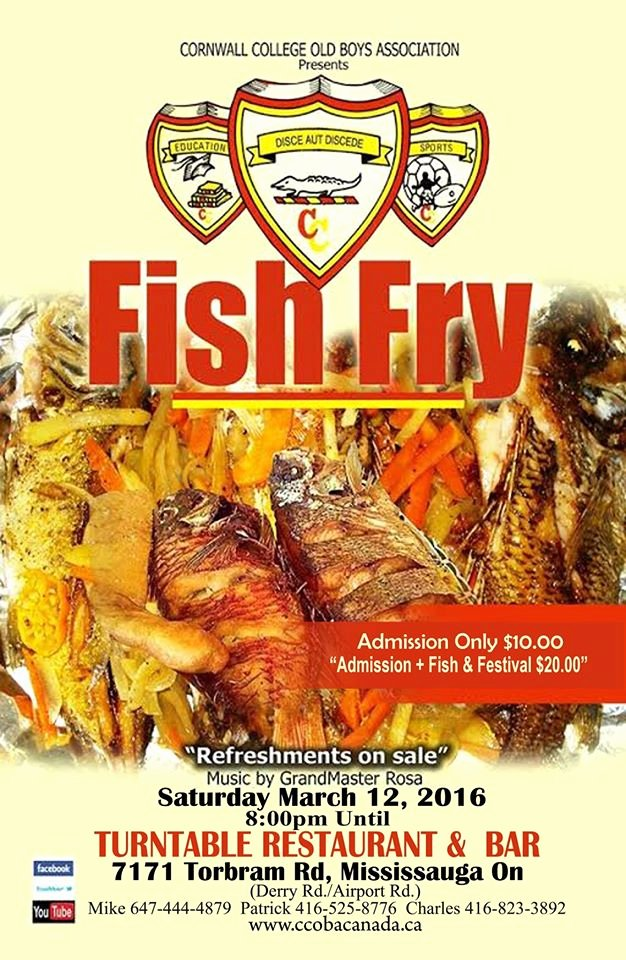 Free Fish Fry Flyer Template Stackerx Fish Fry Template