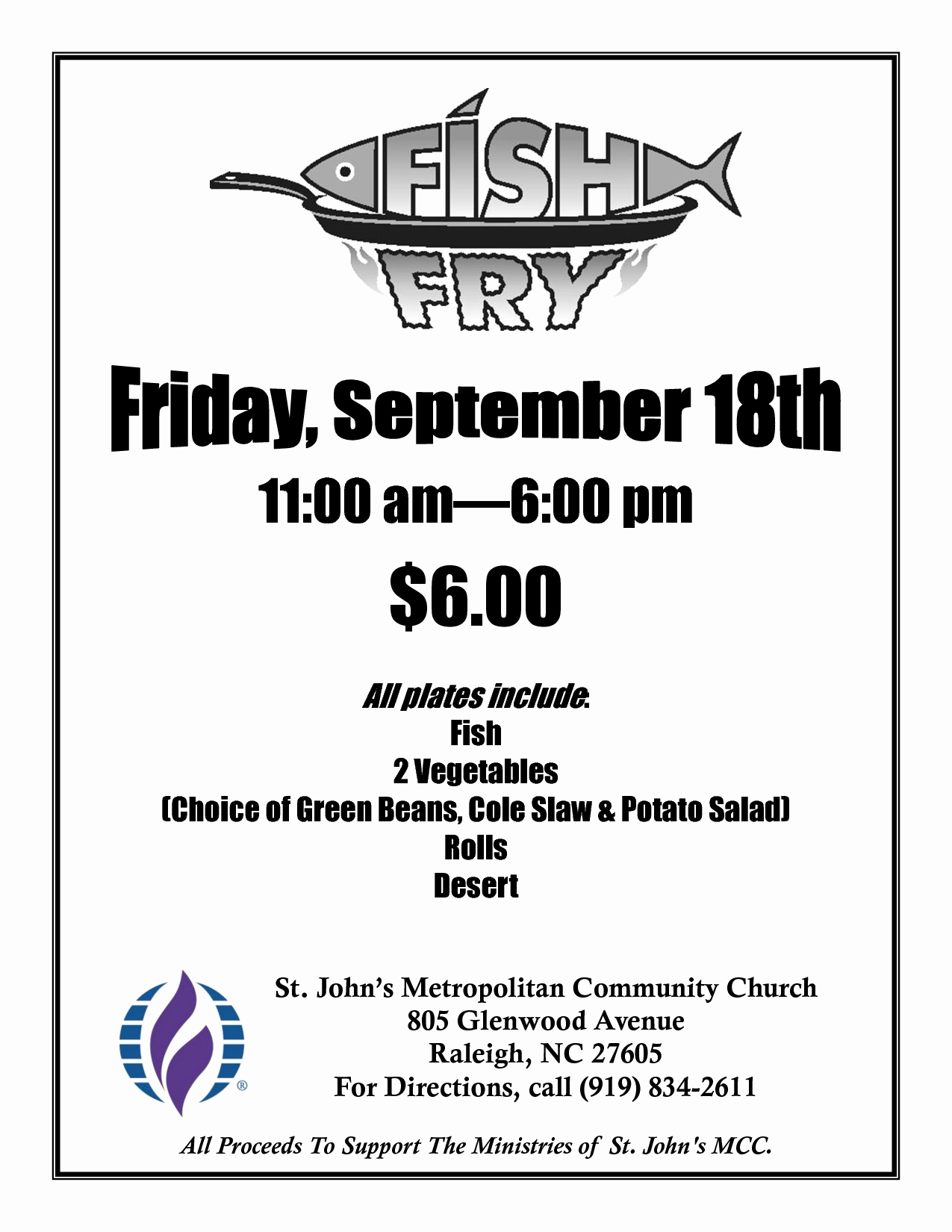 Free Fish Fry Flyer Templates Fish Fry Poster