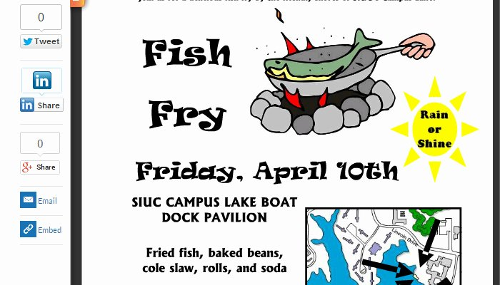 Free Fish Fry Invitations