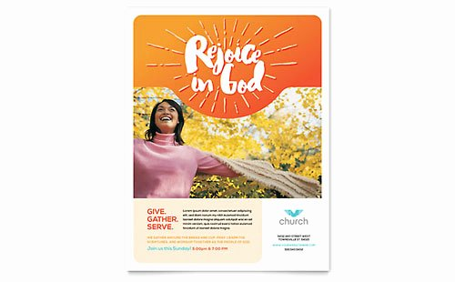 Free Flyer Template Word Publisher Microsoft