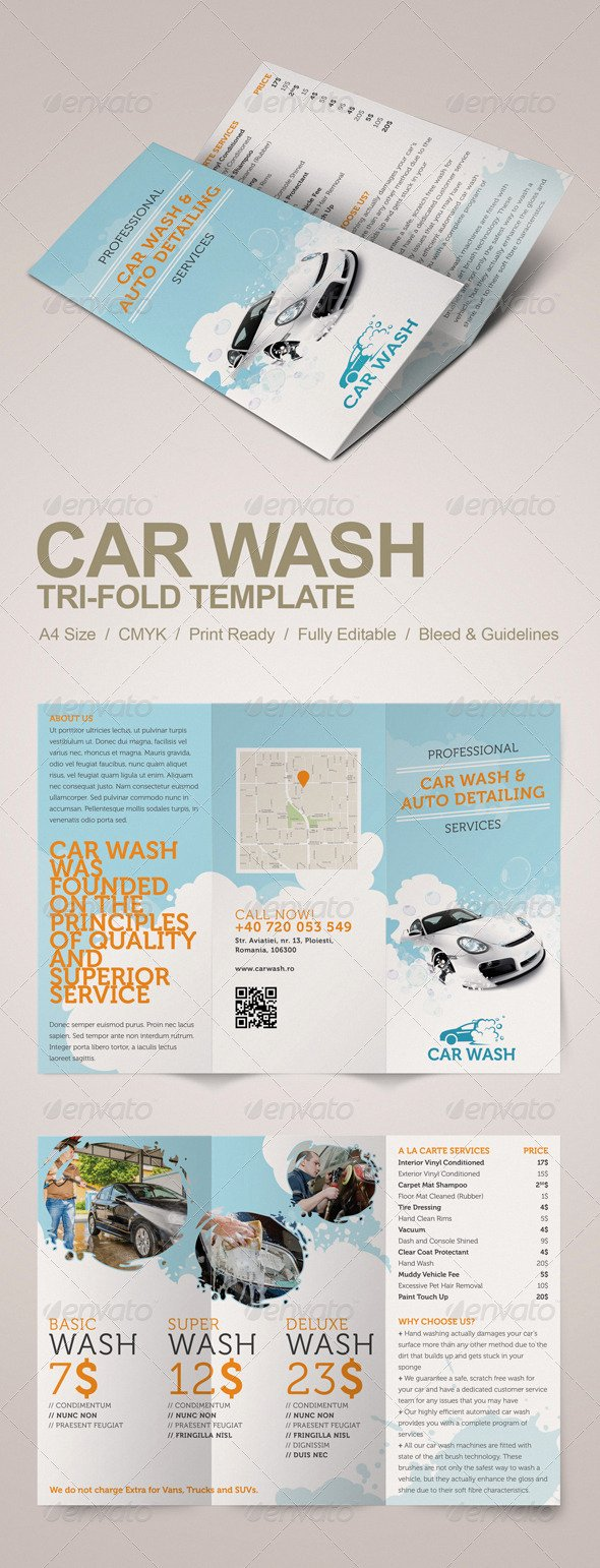 Free Flyer Templates for Auto Detailing Downloads