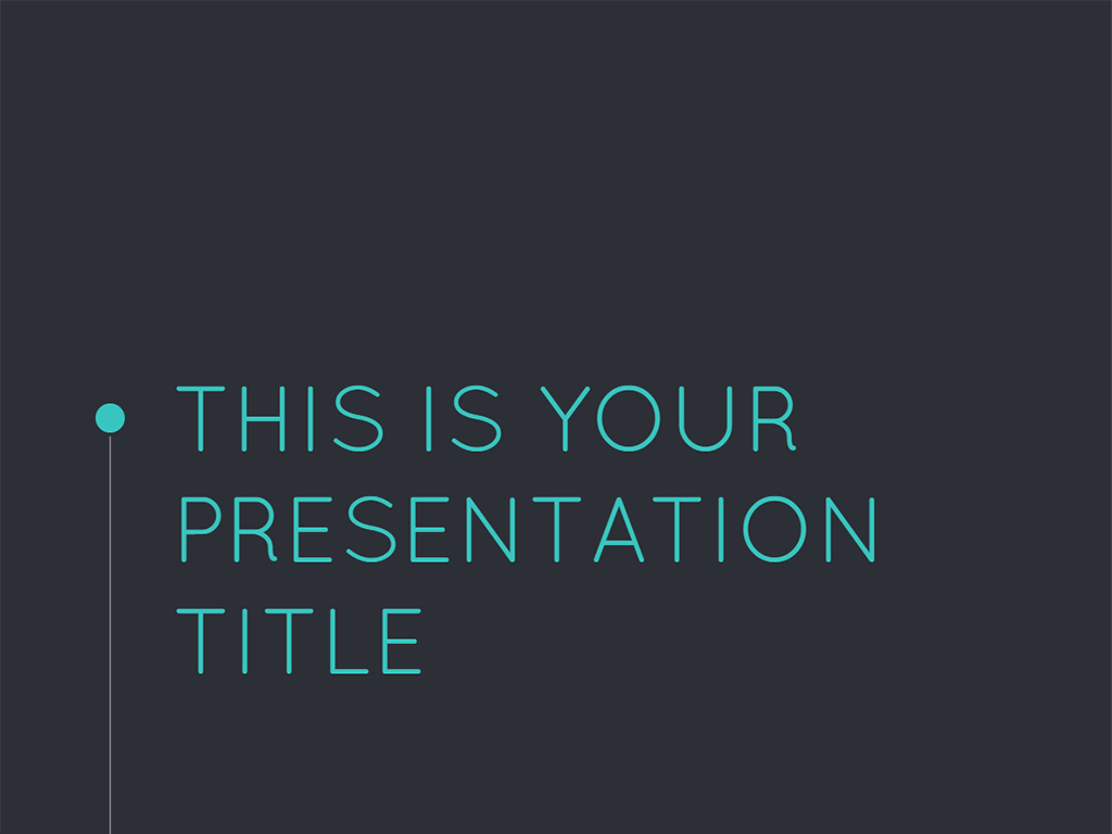 Free formal and Modern Powerpoint Template or Google