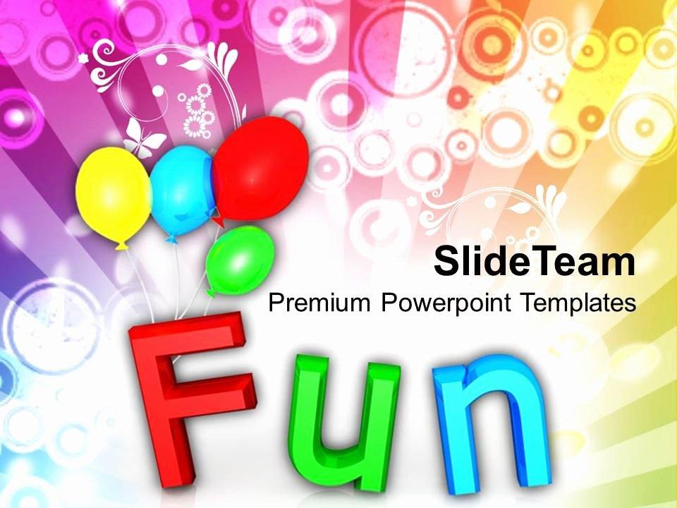 Free Fun Powerpoint Templates Fun theme Party Ideas