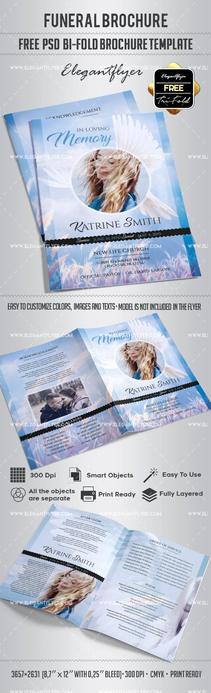 Free Funeral Bi Fold Brochure – by Elegantflyer